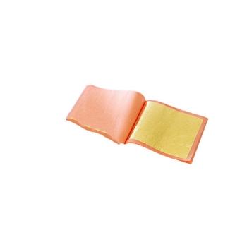 Carnet de feuilles d'or