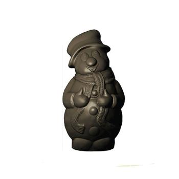 Moule polycarbonate pour chocolat 25 - Bonhomme de neige Noël