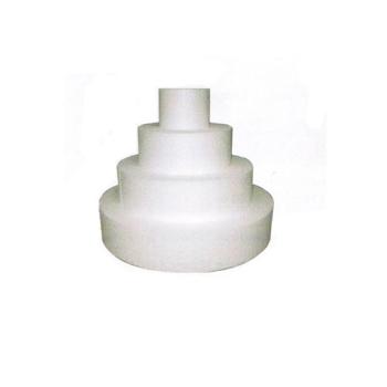 Présentoir polystyrène gateau rond diamètre 25 cm