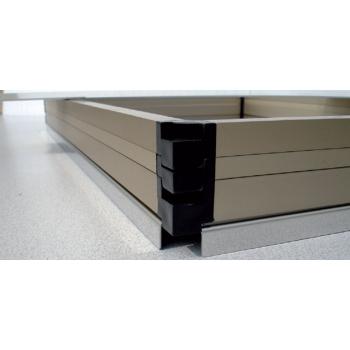 Cadre superposable - Format 600x120 mm (Utile 570x90 mm)