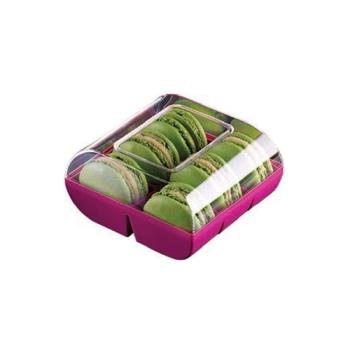 Boîte couleur 6 macarons