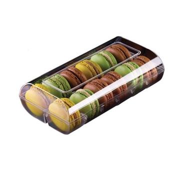 Boîte couleur 12 macarons