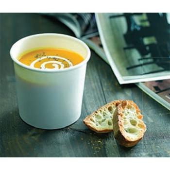 Gobelet carton à soupe et boisson chaude micro-ondables