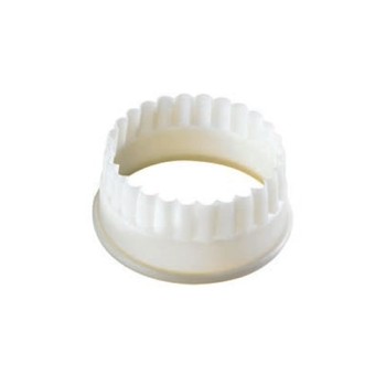 Découpoir polyglass rond cannelé