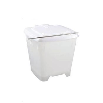 Seau carré plastique