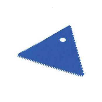 Peigne décor triangle poly