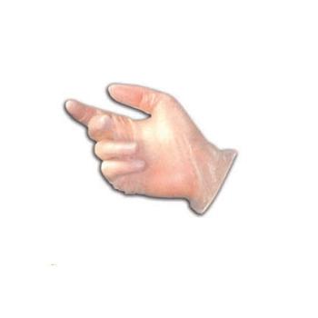Gant vinyl, légèrement poudré
