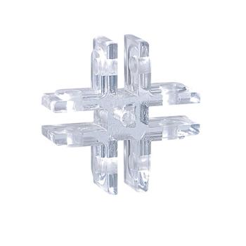 Jonction pour présentoir cristal
