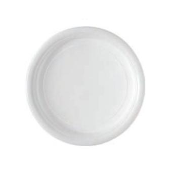 Assiettes plastique rondes
