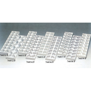 Moules plastique rapide 48 mini gâteaux