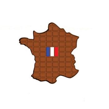 Moule carte de France tablette