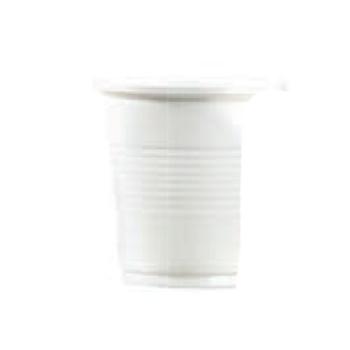 Gobelet plastique blanc pp
