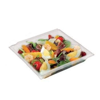 Assiette à couvercle séparé - Fond et couvercle cristal