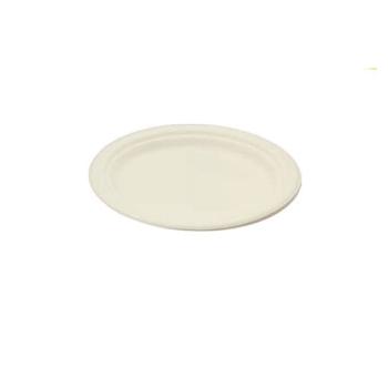 Assiette ovale en fibre de canne