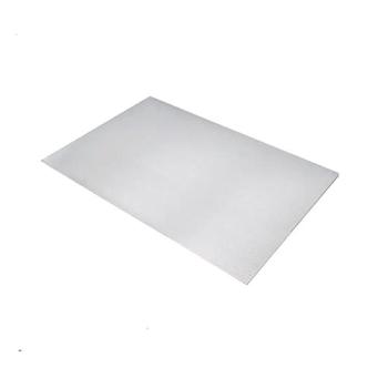 Plaque aluminium sans rebords