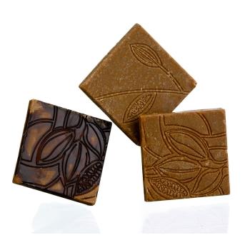 """18 Napolitains """" Texture de cacao """"- Poids 5 g"""