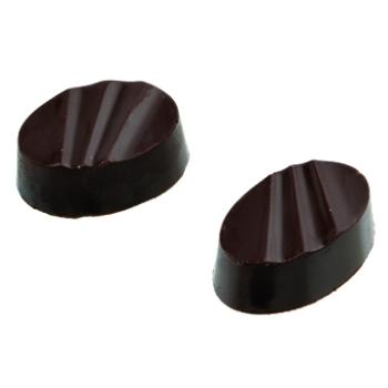 Bonbons ovales striés - 28 empreintes - 16 g