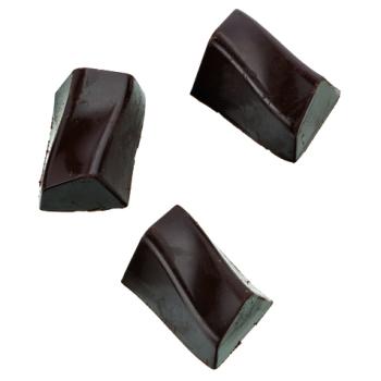 Bonbons rectangles zigzag - 28 empreintes - 16 g