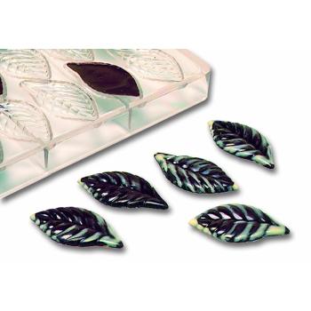 Feuilles - Pour décorer les gâteaux - 21 empreintes - 5 g