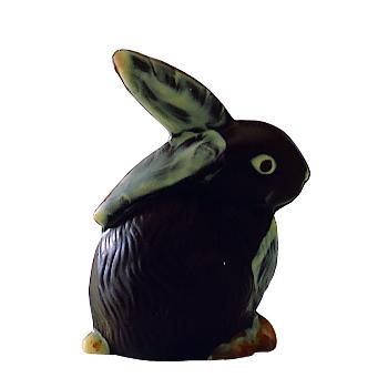 Lapin - 2 empreintes pour 1 lapin