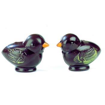 Poussins - 4 empreintes pour 2 poussins