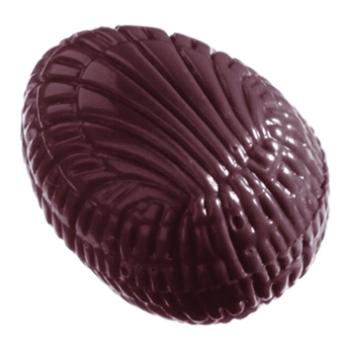 Bonbons demi - oeufs striés - 40 empreintes - 5 g