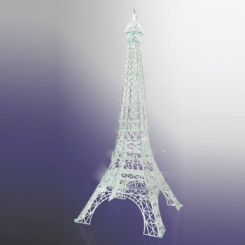 Présentoir Tour Eiffel cristal-