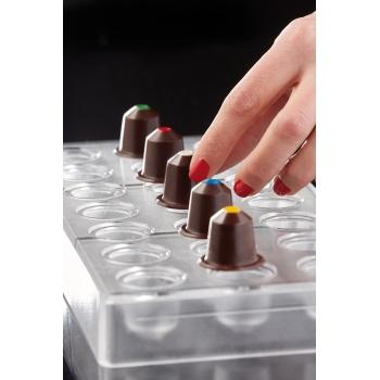 Plaque à bonbon - Modèle capsule