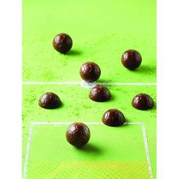 "plaque silicone pour chocolat ""easy choc"" - plaque 18 1/2 ballons"