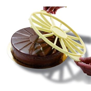 Marqueur-diviseur à gâteau