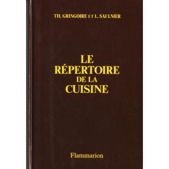 Le répertoire de la cuisine