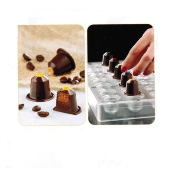 Plaque à bonbons modèle capsule