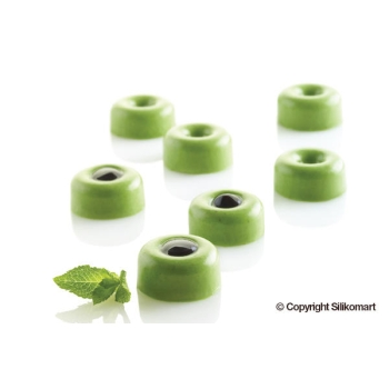 "Moule en silicone - 35 micro savarins ""MICRO SAVARINS"" x 5 ml"