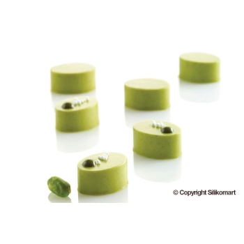 "Moule en silicone - 35 micro ovales ""MICRO OVAL"" x 5 ml"