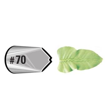 Wilton - douille décorative effet feuille #070