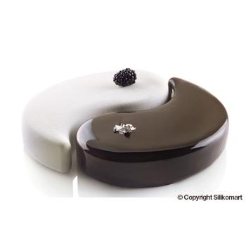 Moule en silicone - YIN YANG - 2x1050 ml