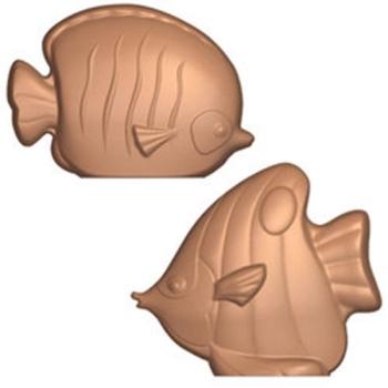 Moule poissons exotiques pour chocolat