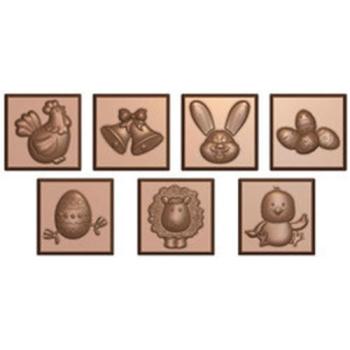 Moule carrés de Pâques pour chocolat