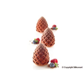"Moule en silicone - 5 pommes de pin ""FORESTA""  - 5x110 ml"