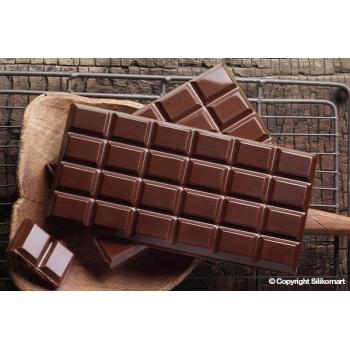 "plaque silicone pour chocolat ""easy choc"" - Classic choco bar"