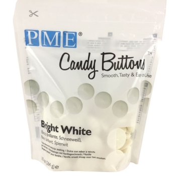 Candy Buttons - Blanc -  284g
