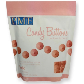 Candy Buttons - Rose - 340g