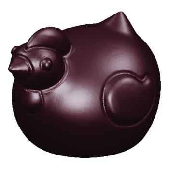 Moule polycarbonate chocolat - Petites cocottes