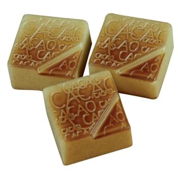 """Pralines carrées """"Cacao"""" - 24 empreintes - 9 g"""