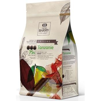 CHOCOLAT DE COUVERTURE NOIR TANZANIE 75 % - 1kg