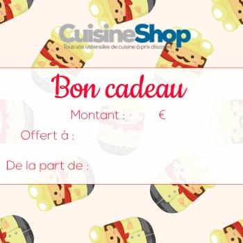 Chèques cadeaux - 5 euros