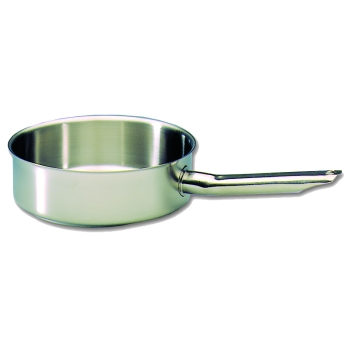 Sauteuse cylindrique inox excellence