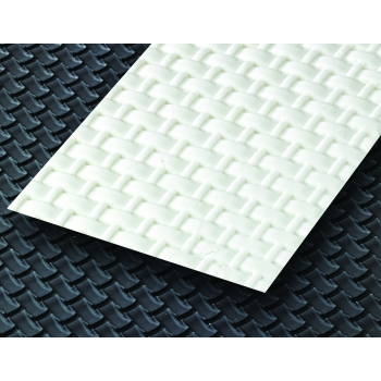 Tapis silicone : Tressé