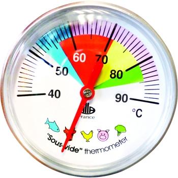 Thermomètre cadran cuisson sous vide