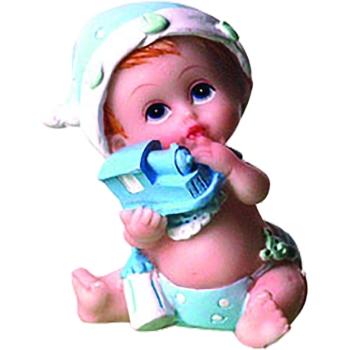 Bébé assis - 6.5 cm